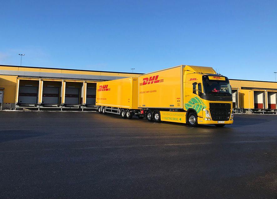 Foto de Camión eléctrico Volvo de DHL Freight