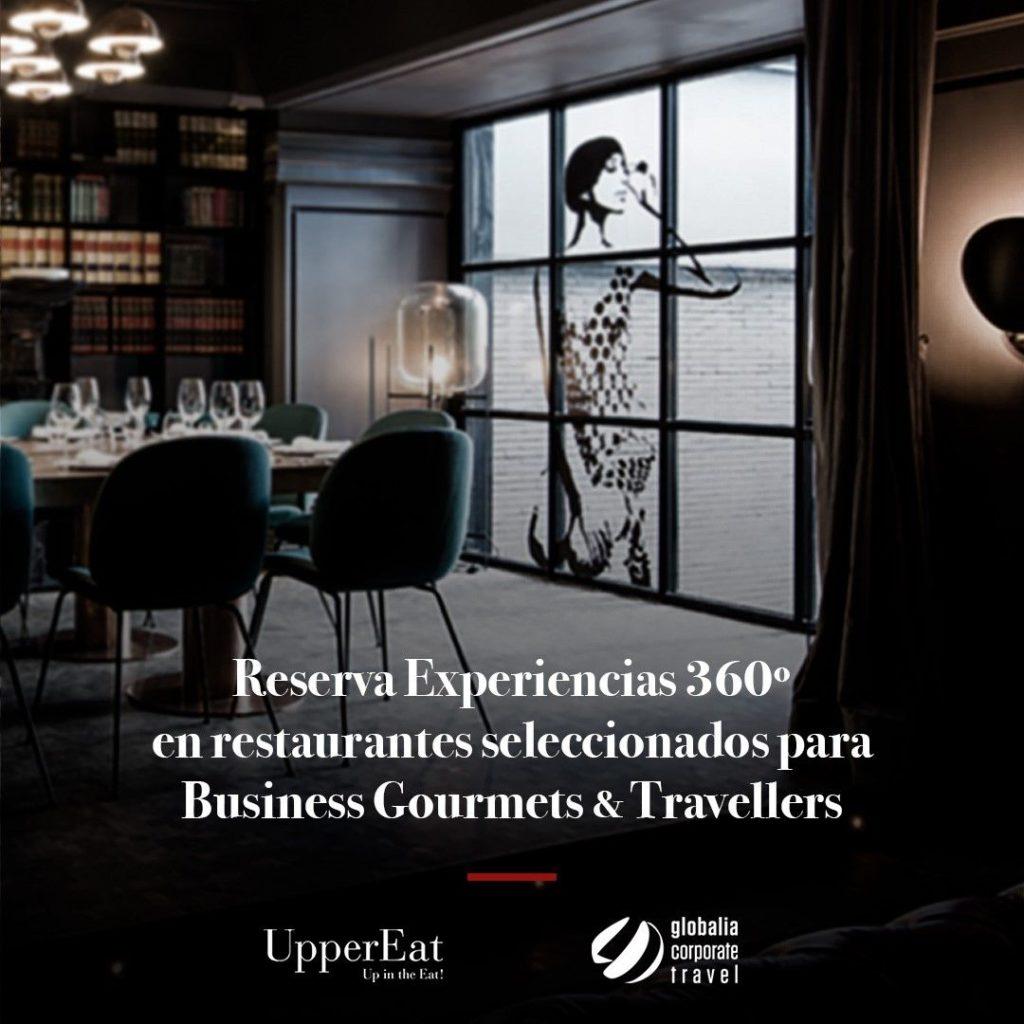 Foto de Acuerdo UpperEat_Globalia Corporate Travel