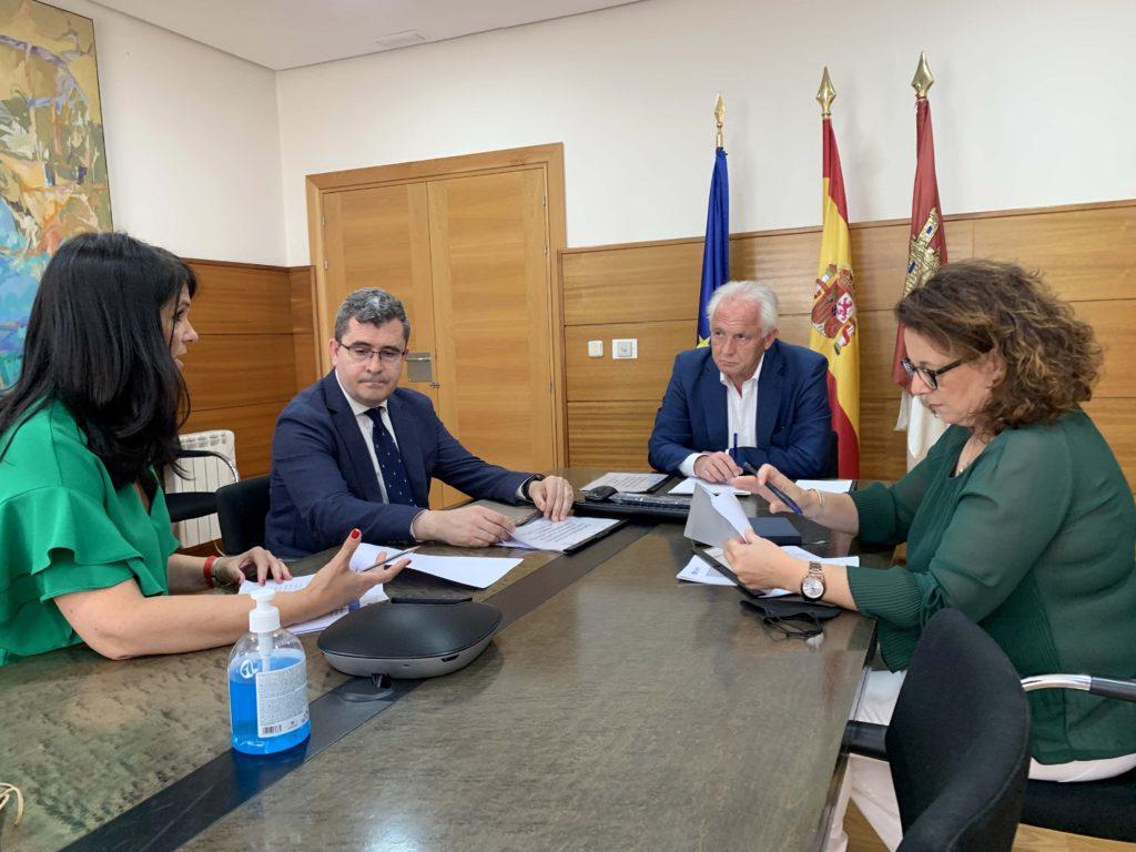 Foto de Nueva reunión de Junta y COSITAL CLM