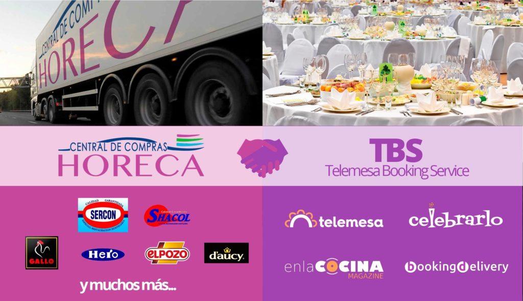 Foto de Acuerdo Telemesa Booking Service y Central de Compras Horeca