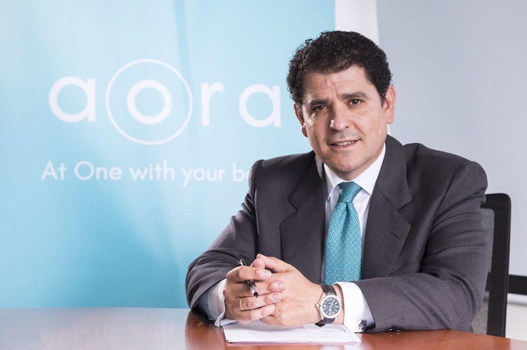 Foto de Gonzalo Peñaranda, CEO de AORA Health