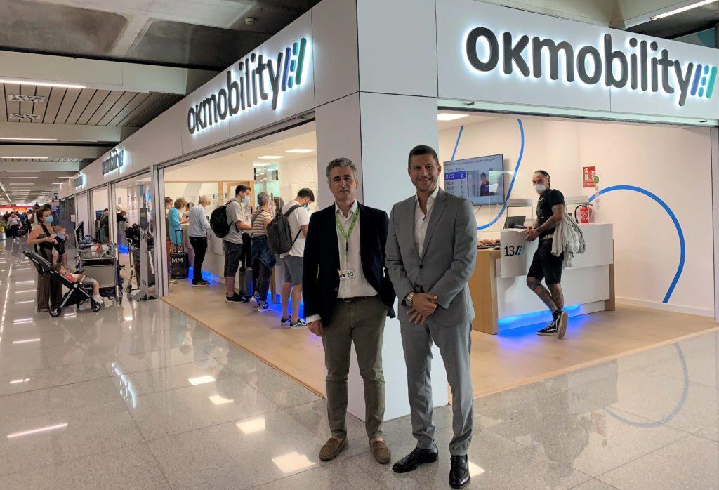 Foto de Inaguruación oficina OK Mobilty Aeropuerto Palma de Mallorca