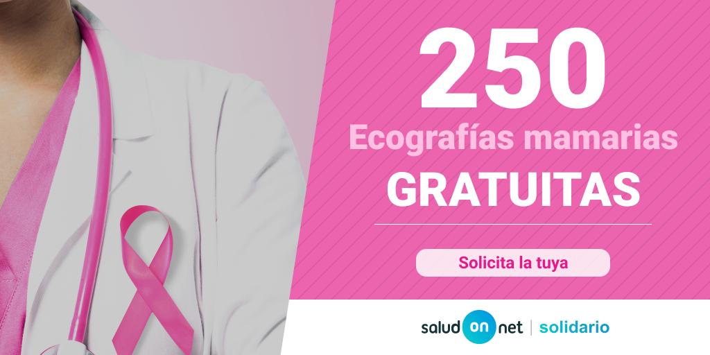 Foto de SaludOnNet dona 250 ecografías mamarias