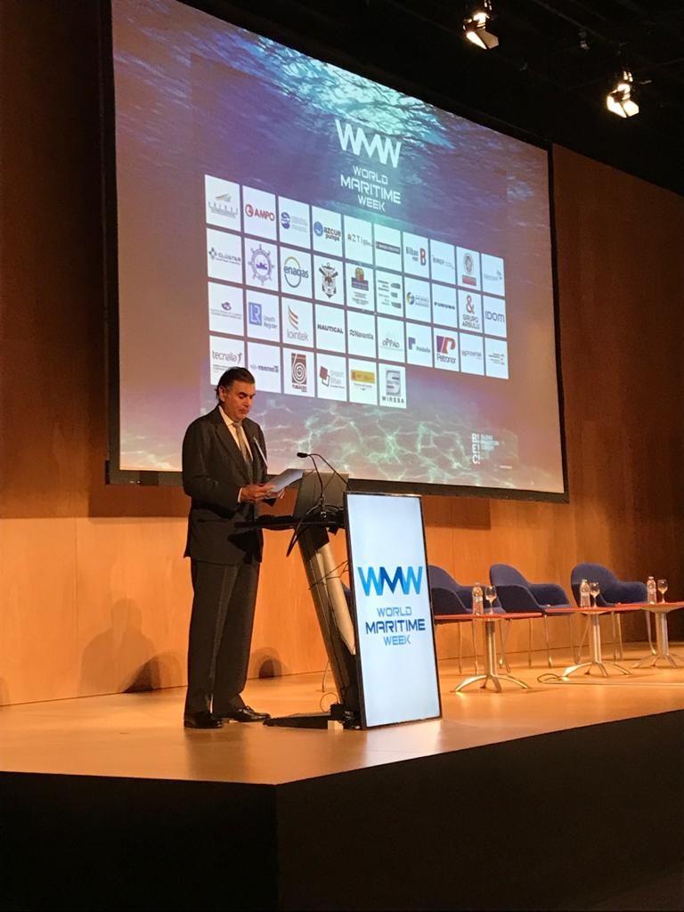 Foto de Aznar en la WMW